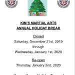 ​Annual Holiday Break